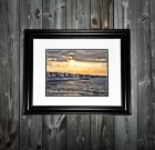 "Limited Edition Framed Print – ""Sunset on Lighthouse Lane"""
