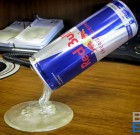 "Liquid Plastic Sculpture – ""Red Bull"""