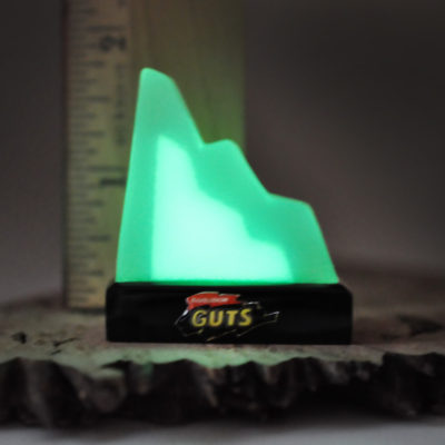 Nickelodeon Guts aggro crag replica glow in the dark aggro crag keychain