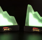 Personalized Miniature Aggro Crag Trophy. Glows In The Dark!