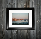 Limited Edition Framed Print – Harvest Moon Over Scituate